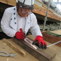 銅板職人仕事開始